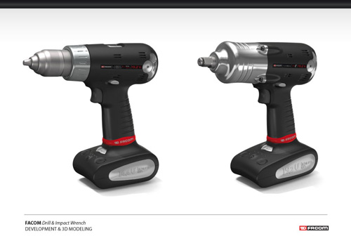 Facom drill & impact wrench